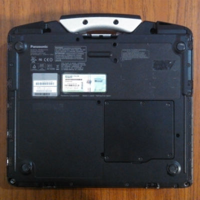 underside of the Toughbook 31