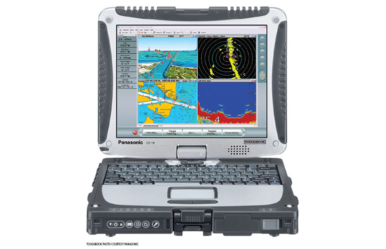 RayTech's RNS software on a CF-19
